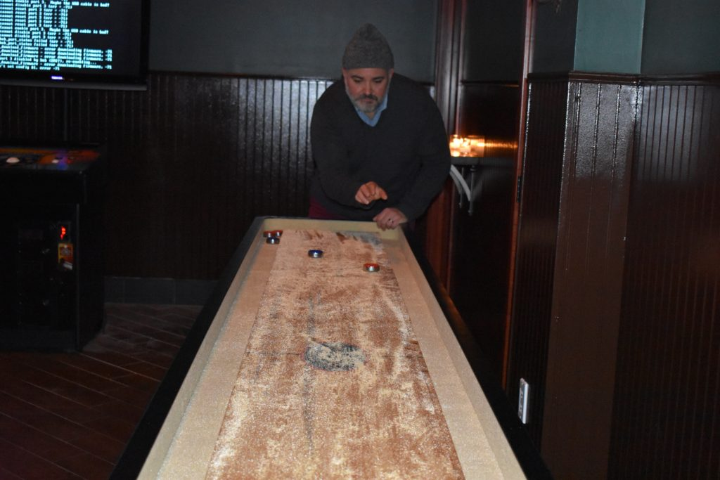 Come by for a game of shuffleboard. Photo: Georgia Kral