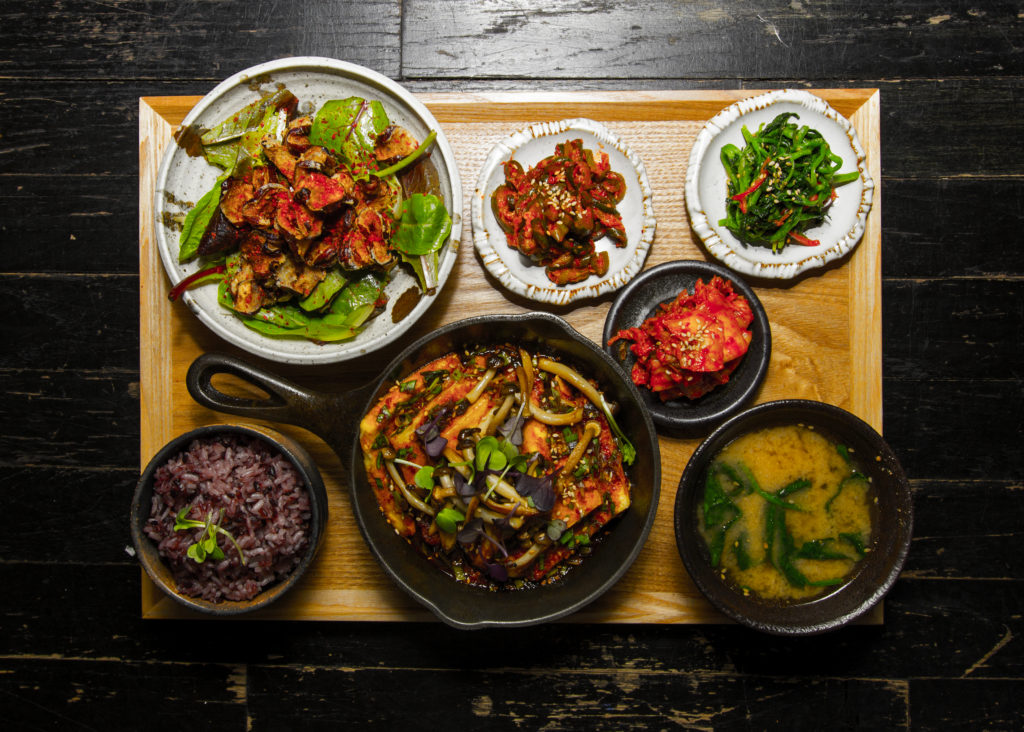 Jip Bap is a traditional Korean meal. Photo: Mokbar