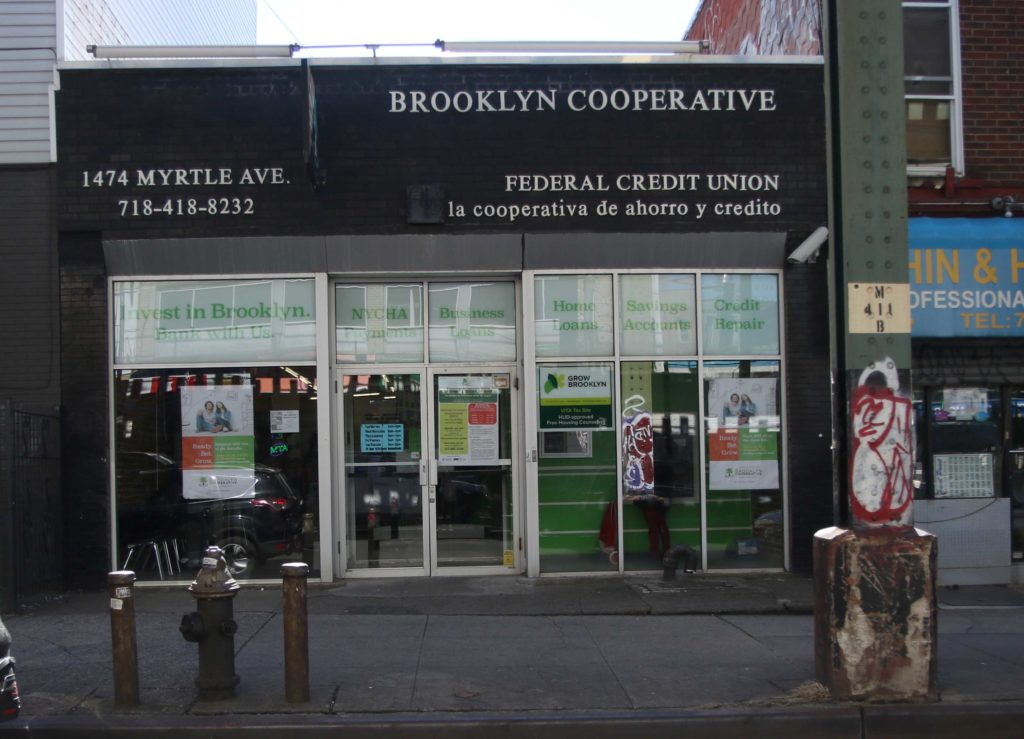 Anyone who lives in Bed-Stuy or Bushwick can join Brooklyn Co-Op Credit Union. Photo: Angely Mercado