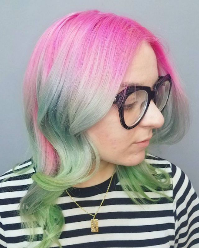 An awesome example of rocking the full unicorn. Photo: Anya Krotova