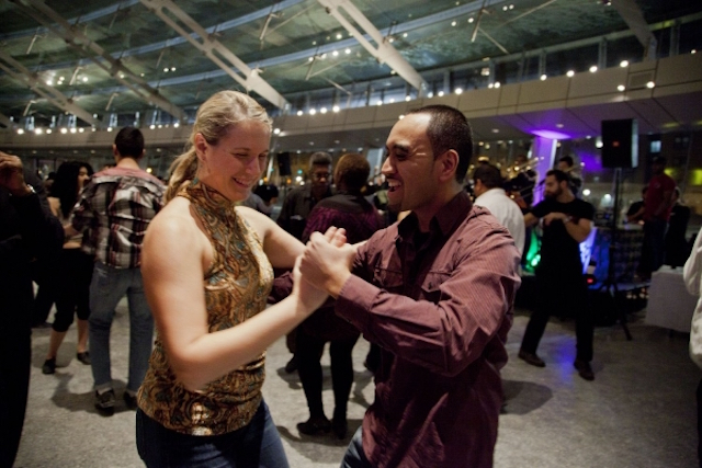 The Brooklyn Museum has a monthly Salsa Night with instruction from pros. Photo: Debra Reyes