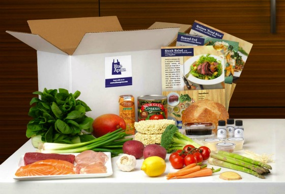 In each Blue Apron box comes all the ingredients you need to create three stellar meals.