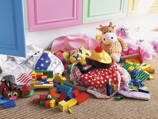 Kids Room With Toys how to get rid of all your baby junk