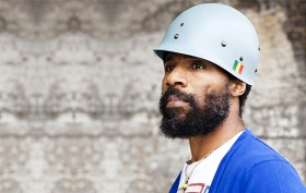 Cody ChesnuTT brings bright, neo-soul to the Celebrate Brooklyn! stage at the Prospect Park Bandshell on Saturday. Photo: BRIC Media Arts