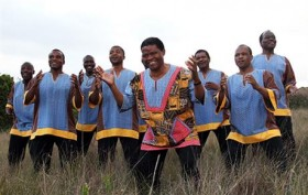 South African choral group Ladysmith Black Mambazo kicks off the weekend with a show at Prospect Park. Photo: Shane Doyle