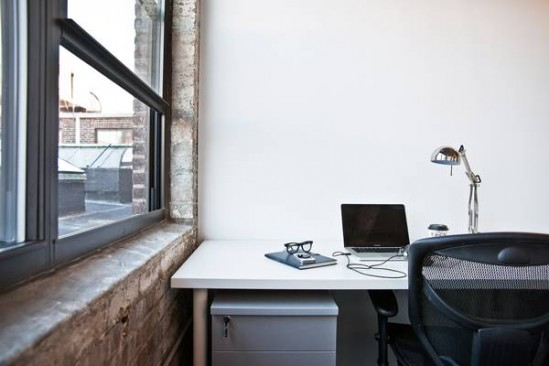Get a desk, or even an entire office, of your own at The Yard.