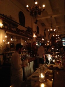 Friday night cocktails at Dominion Square Tavern