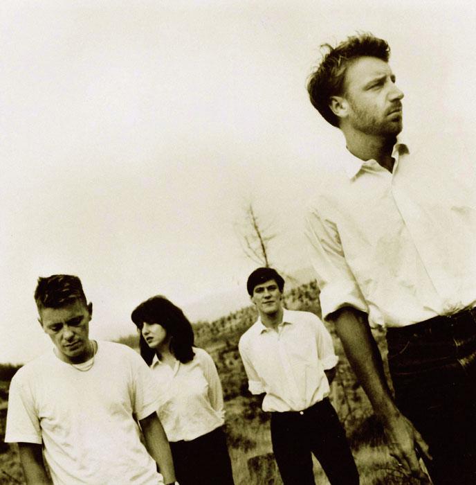 British band New Order plays Williamsburg Park this Wednesday. Photo: Glenn A Baker / Redferns