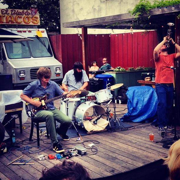 Backyard Band Keep It Gangsta: Thurston Moore + Daniel Higgs Storm Union Pool