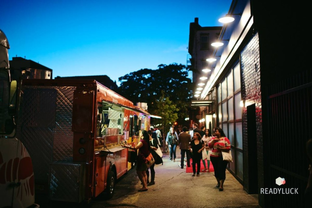 Food trucks, always a hit at weddings and our fair. Credit: Laura-Chase McGehee/Readyluck