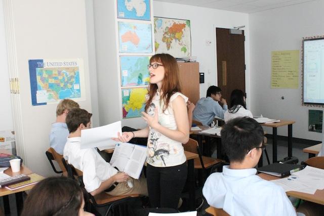 Leman Manhattan Prep School classroom