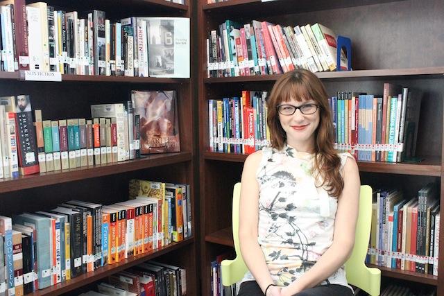 Leman Manhattan Prep School librarian