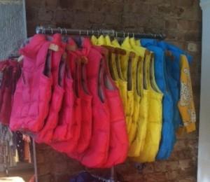 Rainbow coats