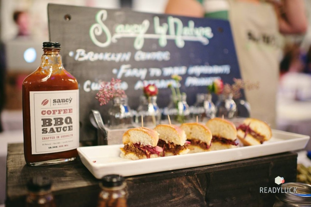 Saucy by Nature's brisket sliders, yum. Credit: Readyluck