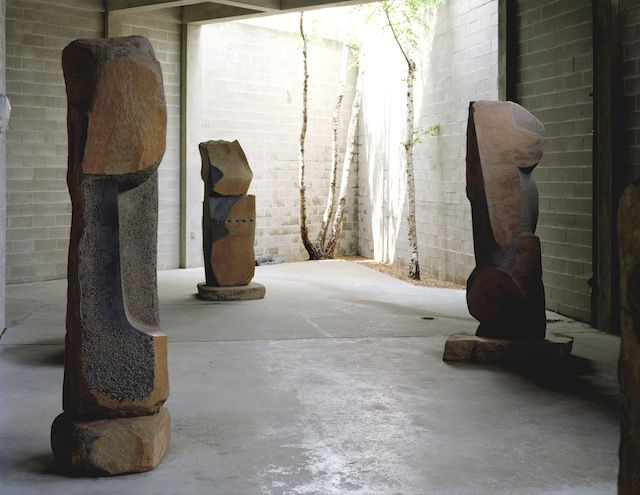 Your moment of zen: The interior courtyard of Interior Courtyard, The Noguchi Museum. © The Noguchi Museum. Photo: Elizabeth Felicella.