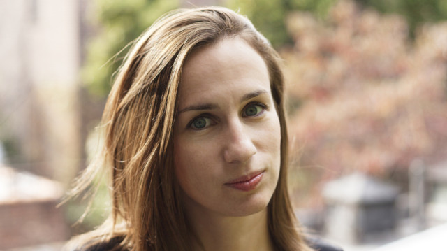 """Adelle Waldman's writing has appeared in The New York Times Book Review, the New Republic, The Wall Street Journal,  and other publications. Her first novel, """"The Love Affairs of Nathaniel P.,"""" was published by Henry Holt and Co. in 2013."""" The book was a New York Times """"Editors' Choice"""" and was described as the """"The Best Debut Novel of the Summer"""" by GQ Magazine.Photo by Lou Rouse"""