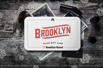 class card Brooklyn Based