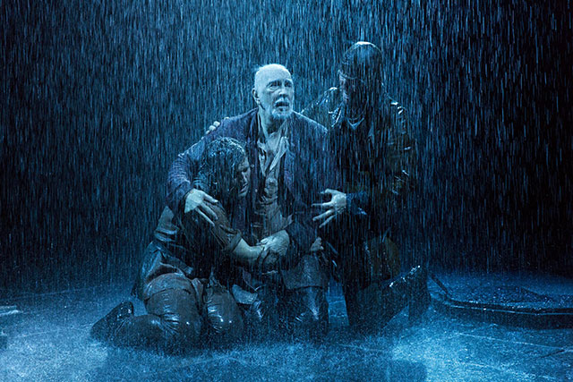 Frank Langella's turn as King Lear in BAM's staging of the classic Shakespeare play is a highlight of Brooklyn's current theater offerings. Photo: Richard Termine