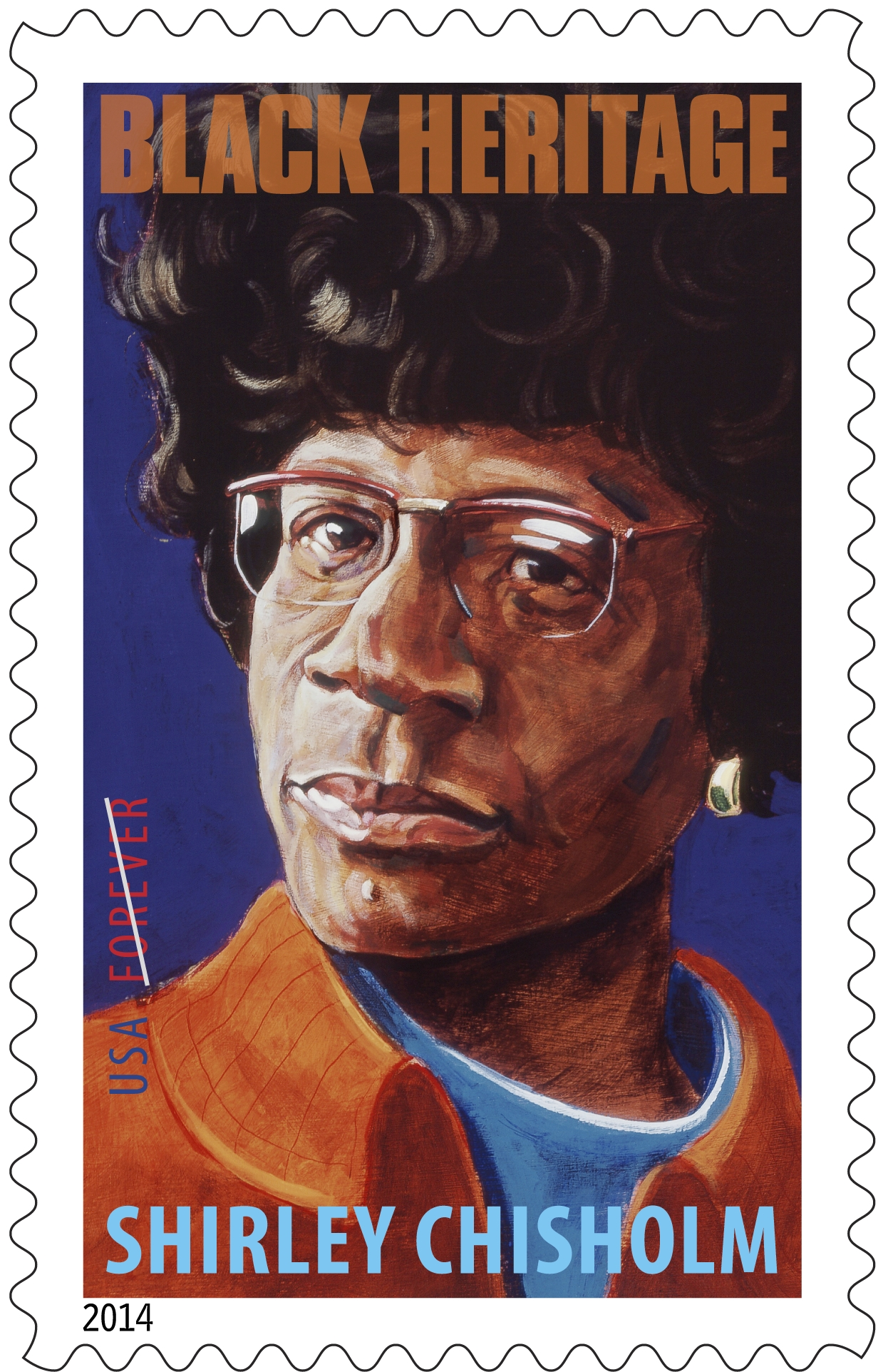 America Honors Brooklyn's Shirley Chisholm With a Stamp ...