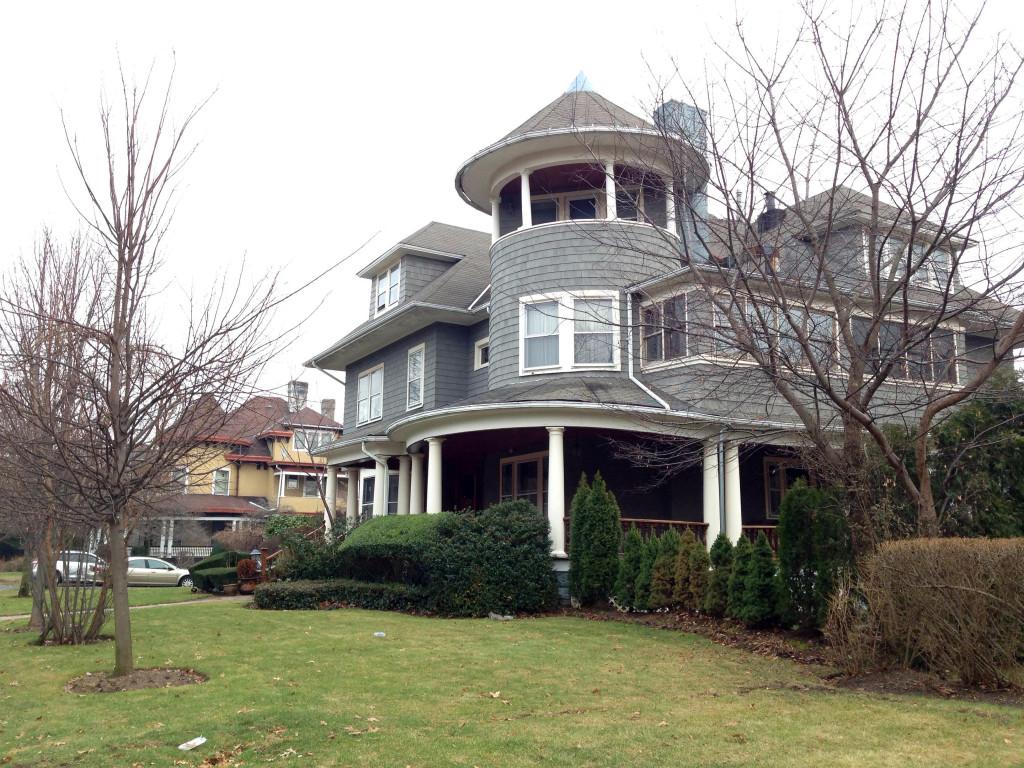 A mansion on Albemarle Road.