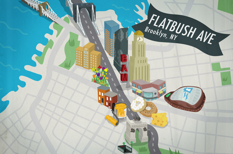 illustrated-flatbush-brooklyn-map