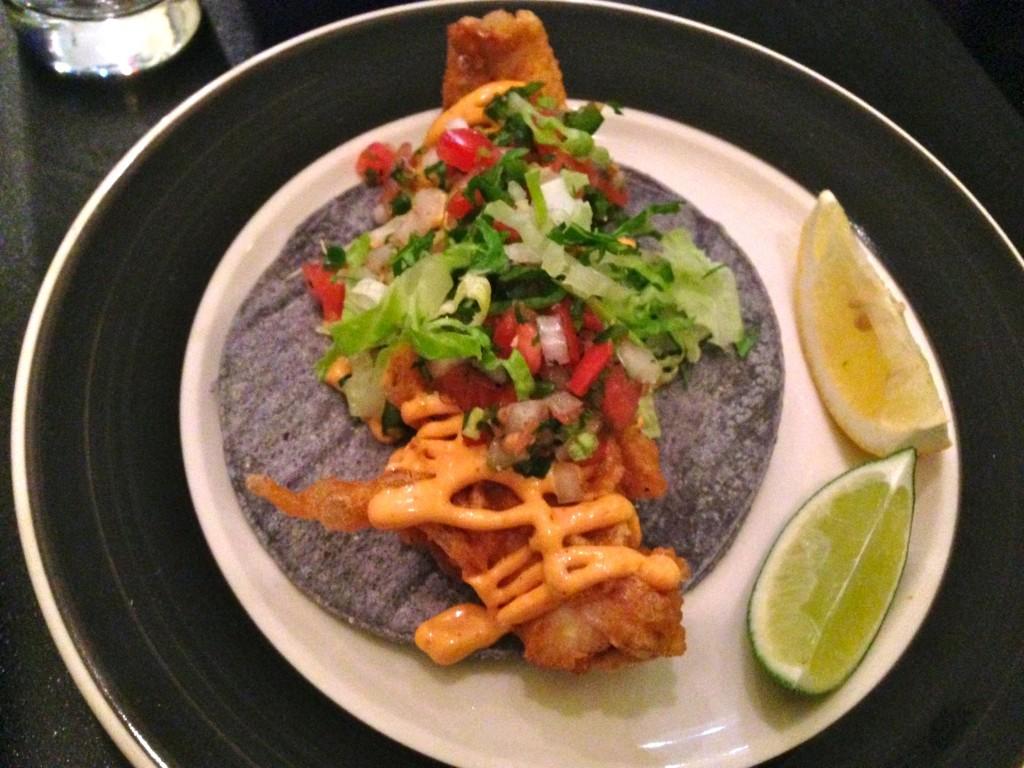 The perfect fish taco at Citrico (Photo: Brendan Spiegel)