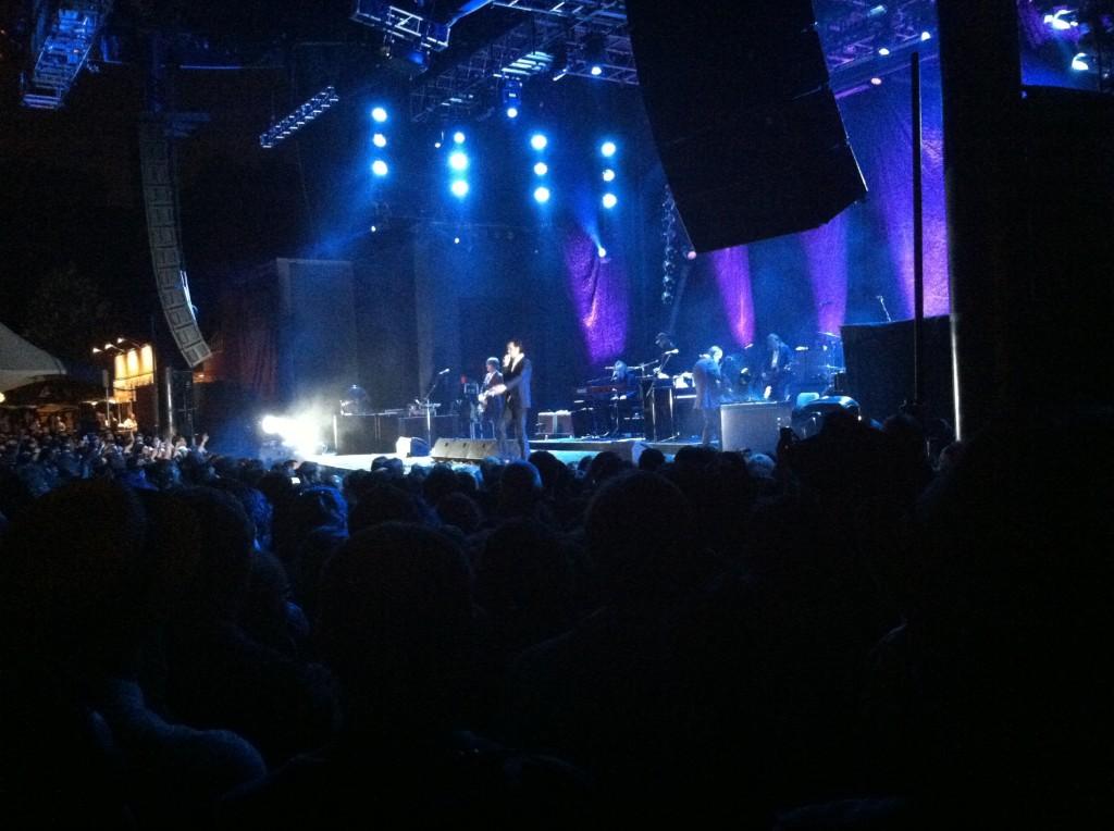 Nick Cave and the Bad Seeds at Prospect Park (David Chiu)