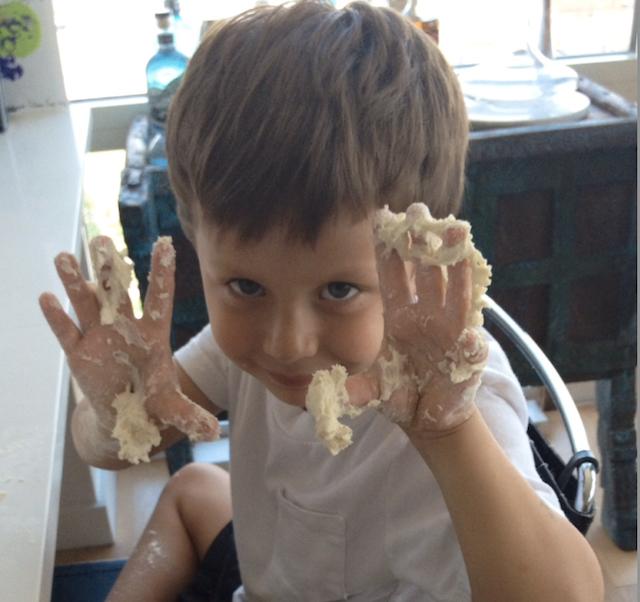 Look ma, both hands! Photo: Shana Liebman