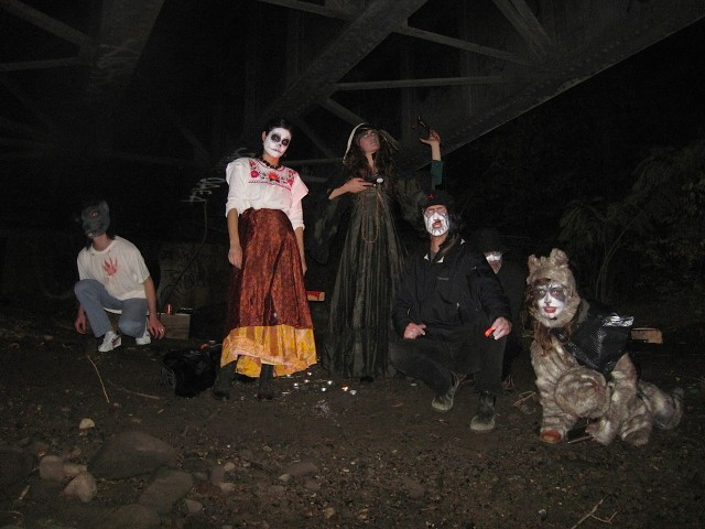 North Brooklyn Boat Club's Undead Guides will lead you through Greenpoint's haunted waterway. Photo courtesy North Brooklyn Boat Club.