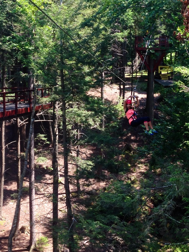The Hunter Mountain Zipline is one of the biggest in the country. Photo: Evan Groll