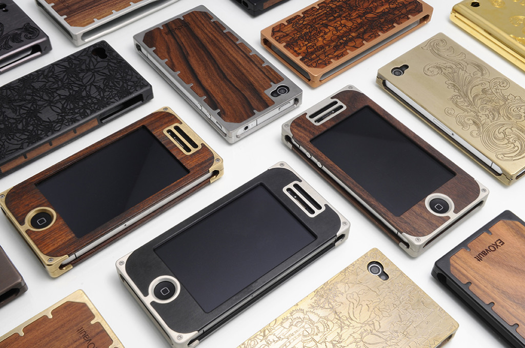 EXOvaults are as lovely, and as pricey, as the phones they protect. Photo: EXOvault