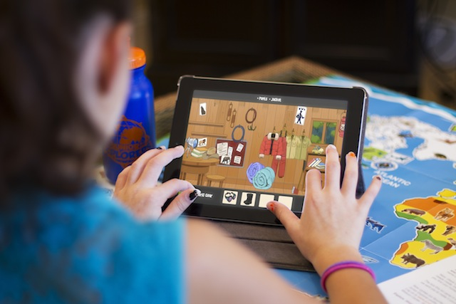 """The theme of each Junior Explorers box corresponds to an app, combining the tactile and the digital in """"gamefied learning."""" Photo: Junior Explorers"""