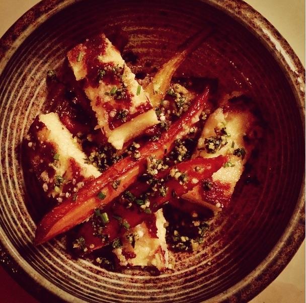 Carrots with Roman-style gnocchi (Photo: June Wine Bar)