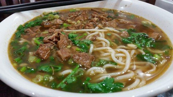 Braised pork noodle soup at Yan Nun Flavor Garden (Photo: Yelp / Amy N.)