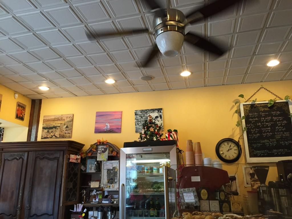 Inside Norma's coffee shop. Photo: Regina Mogilevskaya