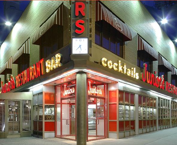 The oldest restaurant on Flatbush Ave (Photo: Junior's)