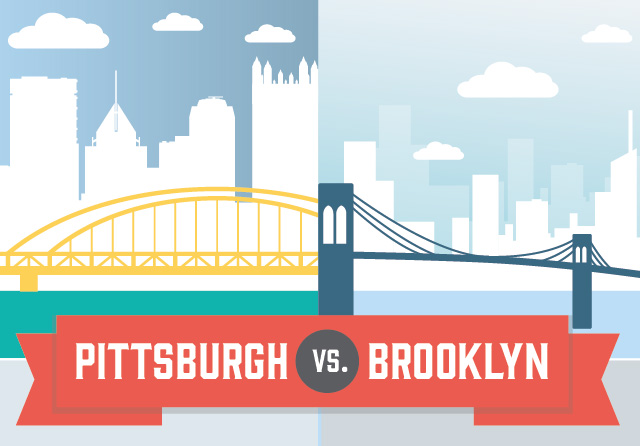 How does Pittsburgh stack up against Brooklyn? We crunched the numbers. Click above to see all the stats. Infographic: Be Better Studios