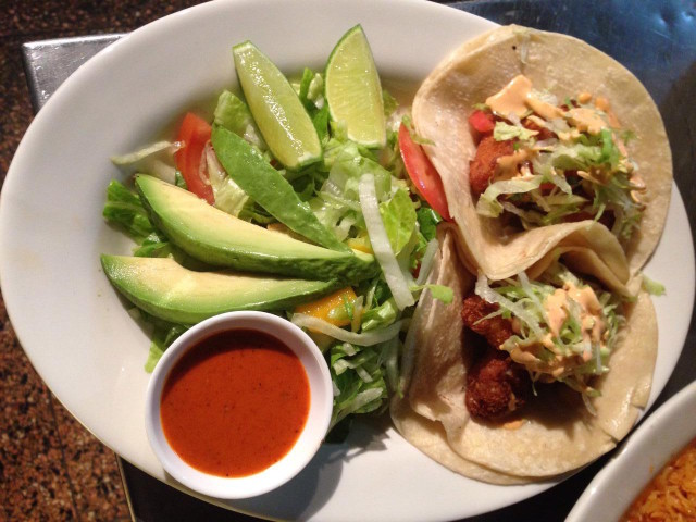 Fish tacos at Taqueria El Patron. Photo: Ana P./Foursquare