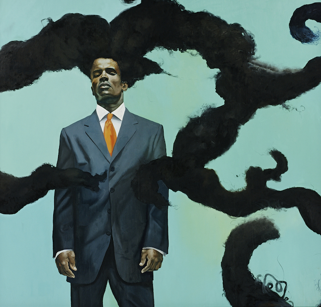 """""""Conspicuous Fraud"""" (2001) Courtesy of Brooklyn Museum."""
