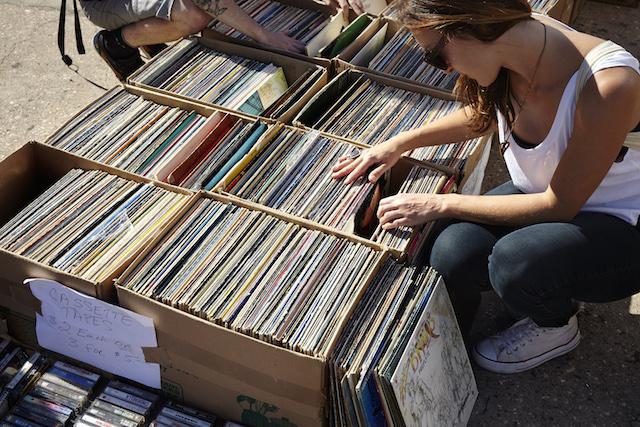 Up your vinyl game this Saturday at the Brooklyn Flea's Record Fair. Photo: Brooklyn Flea