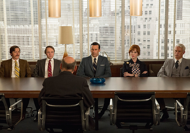 Give Mad Men a proper sendoff with a series finale party at The Vanderbilt on Sunday night. Photo: amc.com