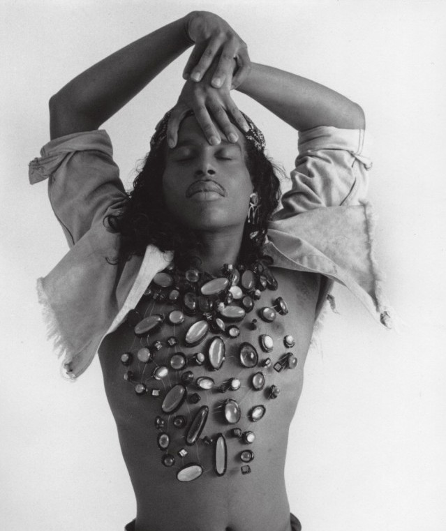 """Willi Ninja, a legendary ballroom performer who was featured in """"Paris in Burning."""" He passed away in 2006. Photograph courtesy of Voguing: Voguing and the House Ballroom Scene of New York City 1989-92)"""