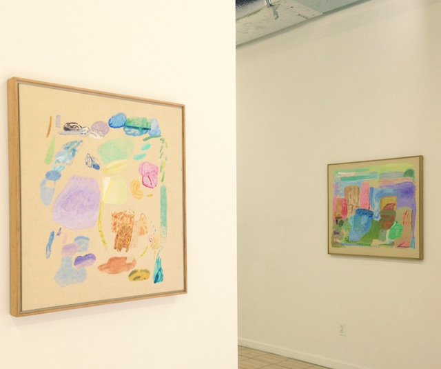 An installation view of Judith Dolnick's exhibit at Outlet. Image: Outlet Fine Art