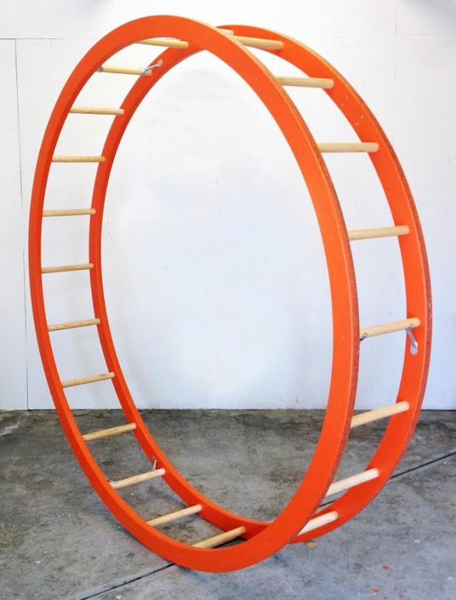 """Steve Rossi's """"Reciprocal Ladder to Roll"""" (and Instagram) will be on view at Home Improvement."""