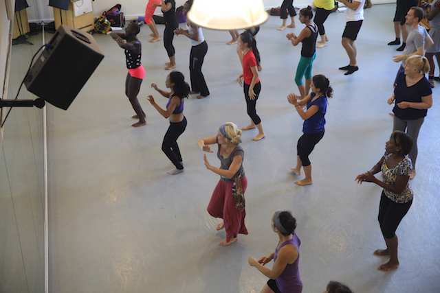 Break into a sweat and learn Kukuwa African Dance for free from Mark Morris Dancers on Wednesday night. Photo: NYRP.org