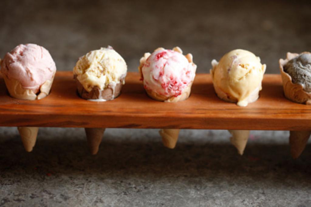 Ice cream flight, anyone? Photo: Milkmaid Ice Cream