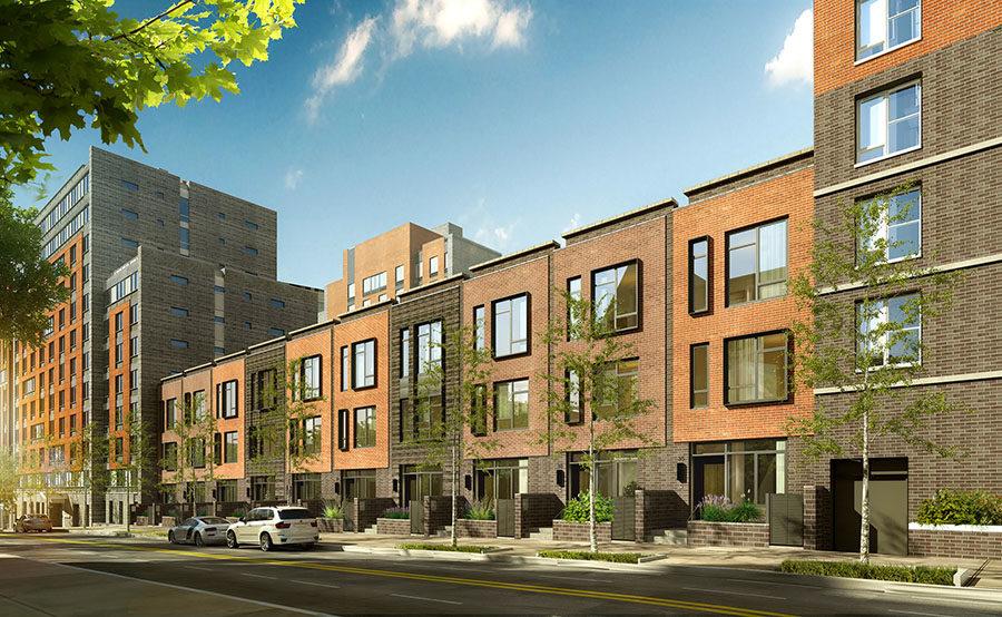 navy-green-townhouses-facade-3151682