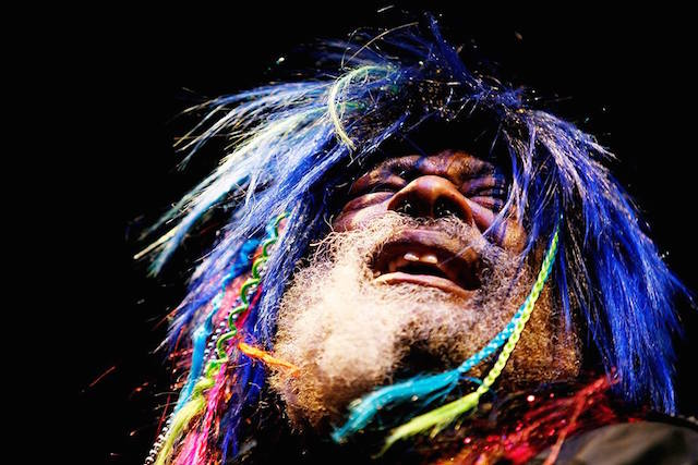Wednesday night, this guy and Parliament Funkadelic wants you to get funked up at a free concert in Queensbridge Park. Photo: George Clinton and Parliament Funkadelic