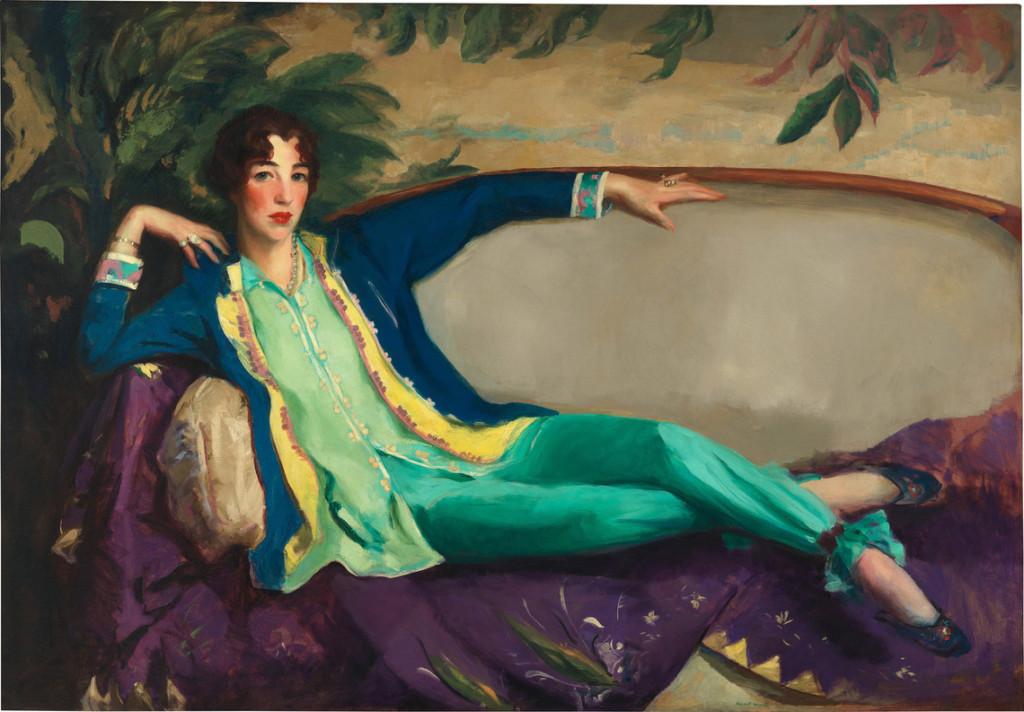 Robert Henri (1865-1929), Gertrude Vanderbilt Whitney, 1916