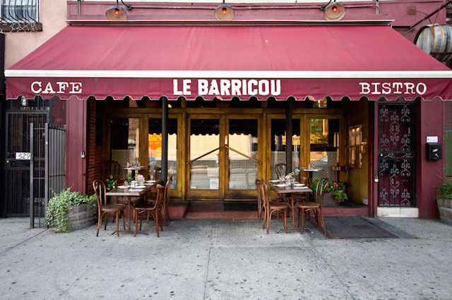 If you've always wanted to try Le Barricou, or any other restaurant in the area, take advantage of the Grand Street Restaurant Week deals going on this week. Photo: Le Barricou